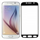 Folie sticla securizata tempered glass Samsung Galaxy S6 - Black aluminium