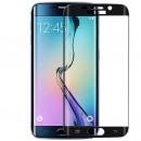 Folie sticla securizata tempered glass Samsung Galaxy S6 Edge - Black