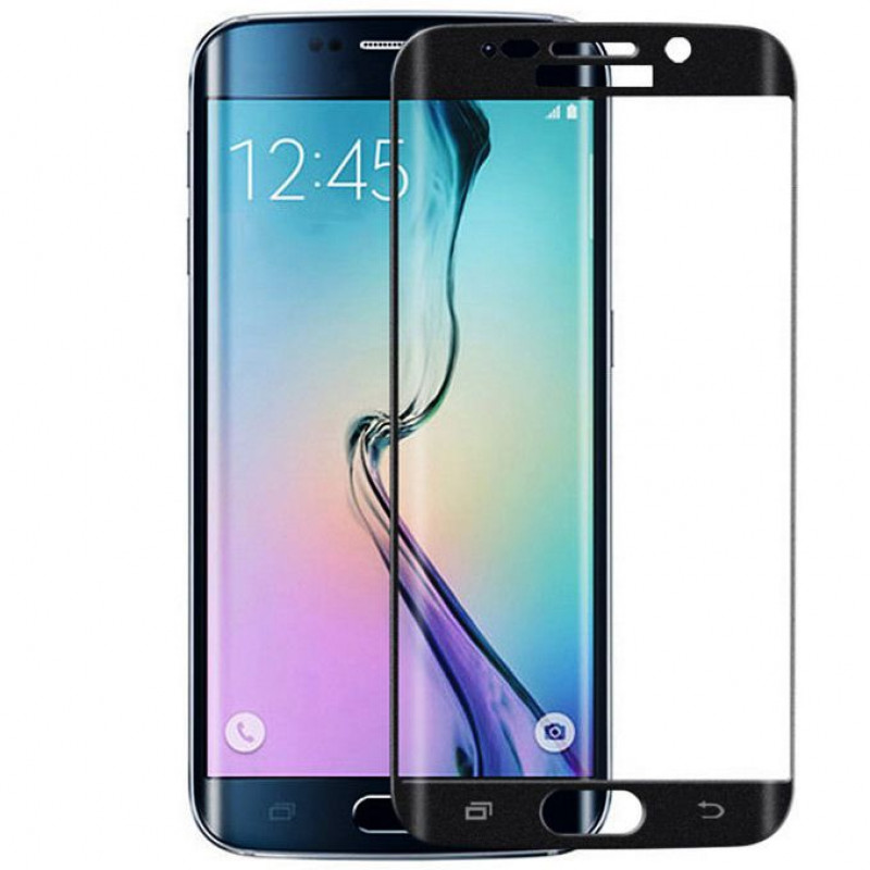 Folie sticla Samsung S6 Edge Black, Folii Samsung - TemperedGlass.ro