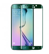 Folie sticla securizata tempered glass Samsung Galaxy S6 Edge - Green