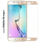 Folie sticla securizata tempered glass Samsung Galaxy S6 Edge Plus - Gold