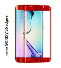 Folie sticla securizata tempered glass Samsung Galaxy S6 Edge Plus - Red