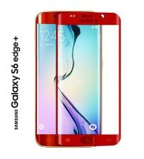 Folie sticla securizata tempered glass Samsung Galaxy S6 Edge Plus - Red