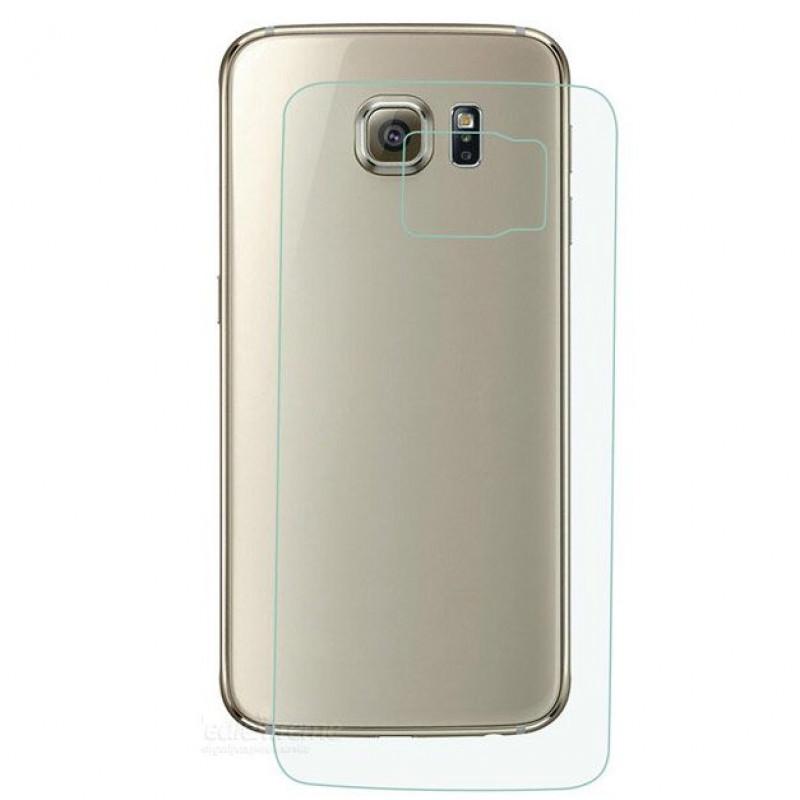 Folie sticla Samsung S6 Edge spate, Folii Samsung - TemperedGlass.ro