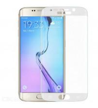 Folie sticla securizata tempered glass Samsung Galaxy S6 Edge - White