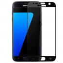 Folie sticla securizata tempered glass Samsung Galaxy S7 - Black