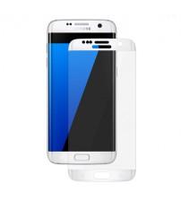 Folie sticla securizata tempered glass Samsung Galaxy S7 - White