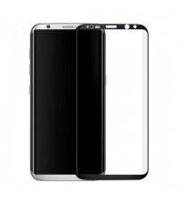 Folie sticla securizata tempered glass Samsung Galaxy S8 - 3D Black