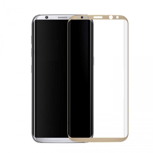 Folie sticla Samsung S8 White, Folii Samsung - TemperedGlass.ro