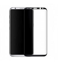 Folie sticla securizata tempered glass Samsung Galaxy S8 Plus 3D Black