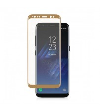 Folie sticla securizata tempered glass Samsung Galaxy S8 Plus 3D Gold
