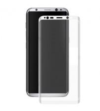 Folie sticla securizata tempered glass Samsung Galaxy S8 Plus 3D White