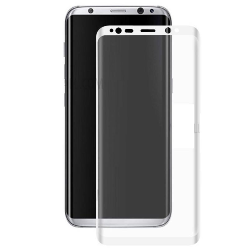 Folie sticla Samsung S8 Plus White, Folii Samsung - TemperedGlass.ro