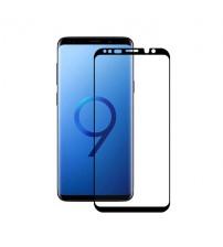 Folie sticla securizata tempered glass Samsung Galaxy S9, 3D Black