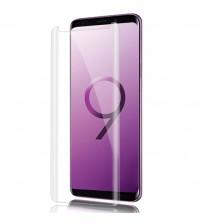 Folie sticla securizata tempered glass Samsung Galaxy S9 Plus, Full Glue UV