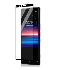 Folie sticla securizata tempered glass Sony Xperia 1, Black
