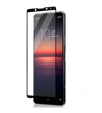 Folie sticla securizata tempered glass Sony Xperia 1 II, Black