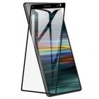 Folie sticla securizata tempered glass Sony Xperia 10, Black