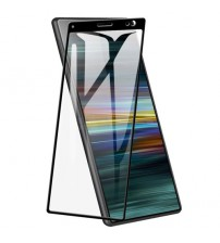 Folie sticla securizata tempered glass Sony Xperia 10 Plus, Black