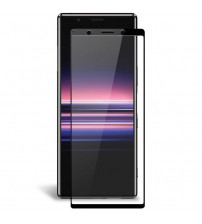 Folie sticla securizata tempered glass Sony Xperia 5 Black