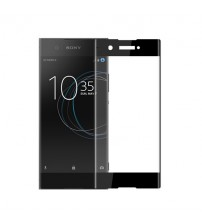 Folie sticla securizata tempered glass Sony Xperia XA1 3D Black