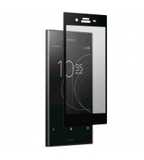 Folie sticla securizata tempered glass Sony Xperia XZ1 Black