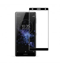Folie sticla securizata tempered glass Sony Xperia XZ2 Premium, Black