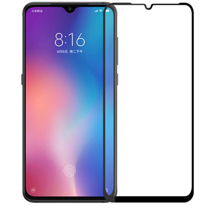 Folie sticla Xiaomi Mi 9 SE Black, Folii Xiaomi - TemperedGlass.ro