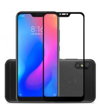 Folie sticla securizata tempered glass Xiaomi Mi 8 Lite, Black