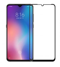 Folie sticla securizata tempered glass Xiaomi Mi 9, Black