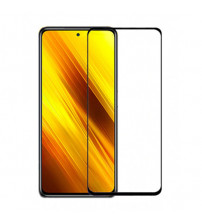 Folie sticla securizata tempered glass Xiaomi Poco X3, Black