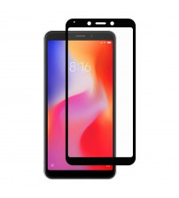 Folie sticla securizata tempered glass Xiaomi Redmi 6, Black