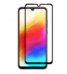 Folie sticla securizata tempered glass Xiaomi Redmi 7, Black