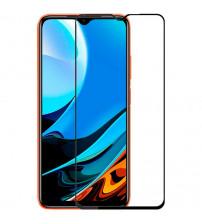 Folie sticla securizata tempered glass Xiaomi Redmi 9T, Black
