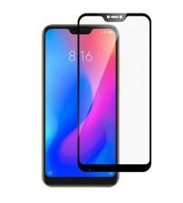 Folie sticla securizata tempered glass Xiaomi Redmi Note 6 Pro, Black