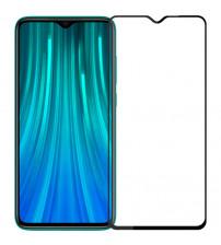 Folie sticla securizata tempered glass Xiaomi Redmi Note 8 (2021), Black