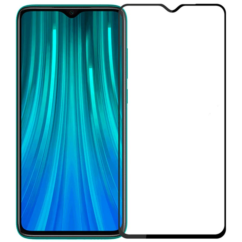 Folie sticla Xiaomi Redmi Note 8 Black - TemperedGlass.ro
