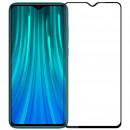 Folie sticla securizata tempered glass Xiaomi Redmi Note 8 Pro, Black