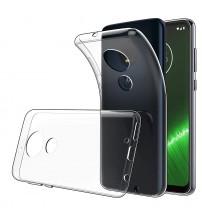 Husa Motorola Moto G7 Plus Slim TPU, Transparenta