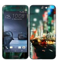 Skin cu aspect modern pentru HTC One A9 - City Lights