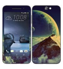 Skin cu aspect modern pentru HTC One A9 - Mountain
