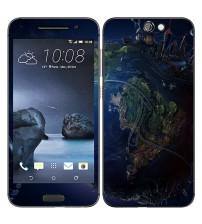 Skin cu aspect modern pentru HTC One A9 - Space