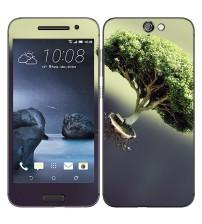Skin cu aspect modern pentru HTC One A9 - Tree