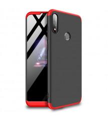 Husa Asus Zenfone Max Pro M1 GKK Full Cover 360, Black-Red