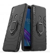Husa Asus Zenfone Max Pro M1 Magnet Slim Ring, Black
