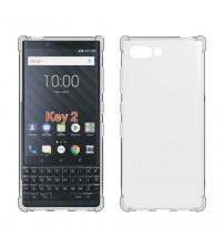 Husa Blackberry Key2 Slim TPU, Transparenta