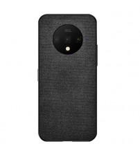 Husa de protectie Denim TPU OnePlus 7T, Black