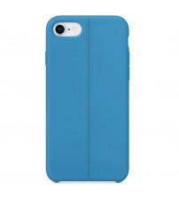 Husa de protectie moale din TPU pentru iPhone 8, Blue