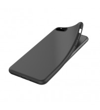 Husa de protectie moale Ultra SLIM iPhone 6 Plus, Simple Black