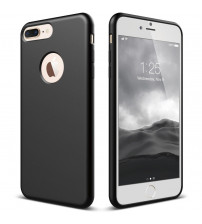 Husa de protectie moale Ultra SLIM iPhone 6 Plus, Black